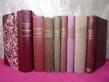 LOT DE  LIVRES XIXe HISTOIRE LITTÉRATURE & DIVERS Daudet, Surcouff, Montesquieu