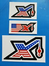 3 MAXIM PATRIOTIC Cranes Union Equipment Hardhat Mining Oilfield Stickers