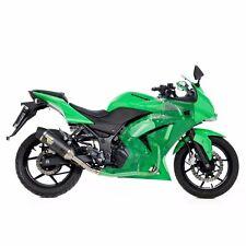 08-12 Ninja 250R Leo Vince SBK LV One EvoII Carbon Fiber FULL Exhaust 8409