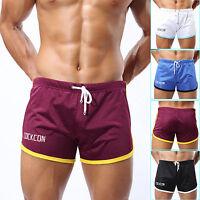Men's Shorts Mesh Jogging GYM Running Trunks Short Pants Boxers Athletic Apparel