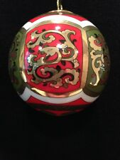 Hochst Chinese Christmas Ball Ornament Made in Germany Nib