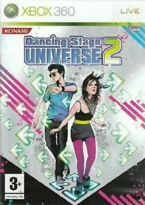 Dancing Stage Universe 2 [Xbox 360] - Complete With Manual - PAL LN - 360 Game