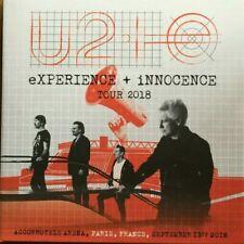 """U2 """"EXPERIENCE + INNOCENCE TOUR 2018""""  LIVE PARIS 13/09/2018  (RARE 2 CD)"""