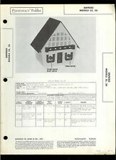 Sams Empress 55 56 Birdhouse Design AM Broadcast Radio Receiver Service Manual
