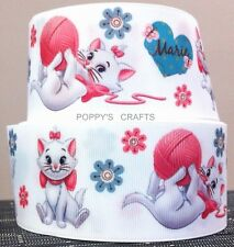 50mm wide - THE ARISTOCATS MARIE GROSGRAIN RIBBON - 1 YARD - Cake Decoration