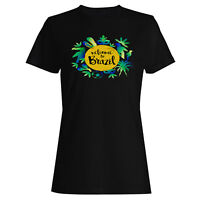 Welcome TO Brazil  Ladies T-shirt/Tank Top x136f