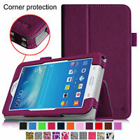 For Samsung Galaxy Tab E Lite / Tab 3 Lite 7.0 Tablet Case Cover Stand Folio