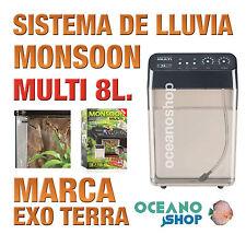 SISTEMA DE LLUVIA MONSOON ANFIBIOS TERRARIO MULTI 8 LITROS Exo Terra Calidad