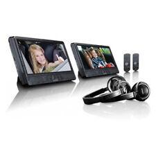 """Lenco DVP-1045 Portable Player 2er Set tragbare 10"""" DVD-Spieler Kopfhörer USB"""