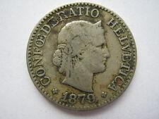 Switzerland 1879 10 Rappen, F.