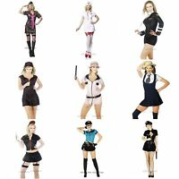 Womens Fancy Dress Halloween Costume Sizes XS S M L XL