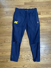 Nike Jordan Jumpman Michigan Wolverines Therma Navy Blue Sz Large MSRP $130