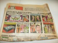 Vintage 1987 Pittsburgh Press  Newspaper Comics Funnies - Dick Tracy - Andy Capp