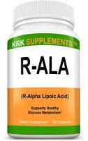 1x R-ALA R-Alpha Lipoic Acid 200mg RALA Antioxidant
