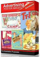 Vintage Photographs Old Advertising Posters, all CLASSIC DOWNLOAD