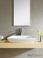 Fine Fixtures 27x18 Modern Bathroom Vessel Sink-Vitreous China - MV2718W