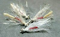 Sold Per 4 1//8wt.Size 8 *2021*Crappie//Panfish and Trout,Streamer Gold-Copper,