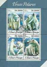 Timbres Animaux Ours St Thomas 4316/9 o année 2013 lot 24272 - cote : 12 €