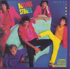 Rolling Stones - Dirty Work (CD CBS 1986) First Press, No Barcode, Made In Japan