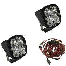 Baja Designs Squadron Pro Pair LED Lights Clear Driving Combo Beam ATV UTV Jeep