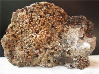 2474g Natural Garnets Quartz Cluster Smoky Crystal mineral Specimen 5.45lb
