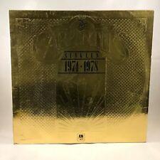 CARPENTERS The Singles 1974-1978 UK VINYL LP EXCELLENT CONDITION best of  D