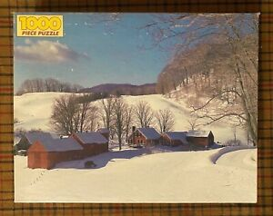 NIB Golden Brand Near S. Woodstock Vermont 1000 Piece Jigsaw Puzzle Factory Seal