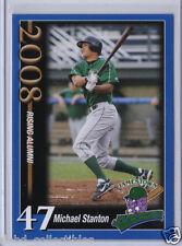 MIKE STANTON GIANCARLO Yankees 2008 Jamestown rare minor league rookie **** QTY