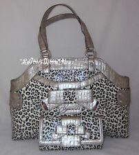 GUESS BRICKEN Lulin Bag Sac a Main Portefeuille Leopard