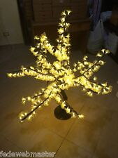 ALBERO NATALE 360 LED 1 MT LUCE CALDA WARM WHITE DESIGN INTERNO ESTERNO AZALEA