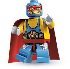 Lego minifigures  SERIE 1 - WRESTLER - Completo