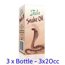 3 Packs x Original 20ml Tala Snake Oil Permanent Hair Removal