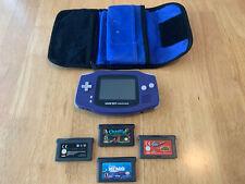 Nintendo Game Boy Advance Bundle (4 Games)