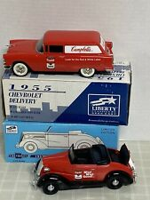 Two New Models Of CAMPBELLS SOUP 1937 & 1955 CHEVROLET 1:25 Scale