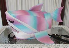 Luv Betsey Johnson Kitsch Shark Backpack LB Sharkie Large School Travel Bag NWT