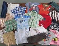 Baby Boy's Summer Clothing Big Bundle 6 to 12 Mths - Gap, Next, Vertbaudet, H&M