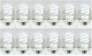 12 TCP Energy Smart Compact Fluorescent Spiral Bulb 14W Replaces 60W E26 Base