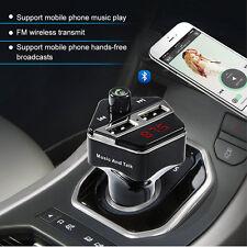 Bluetooth Wireless Car Kit Handsfree Radio MP3 Player USB Charger with USB Port