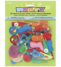 Bulk Lot - Pack of 36 Pinata Favour Toys Kids Birthday Party - FREE DELIVERY