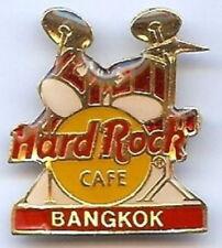Hard Rock Cafe BANGKOK 1990s Red DRUM KIT w/ HRC Logo PIN DRUMS - HRC #896 Sand