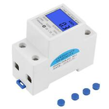 5-32A 230V 50Hz LCD Display Single Phase Energy KWh Meter DIN Rail Mounting
