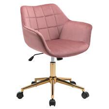 Duhome Velvet Modern Home Office Desk Chair Mid Back Mid Century Modern Computer