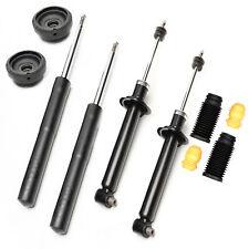 4 Stoßdämpfer Gasdruck + Domlager + Staubschutz VA - Audi 50, Derby, Polo 86C
