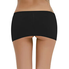 Women Micro Mesh Sheer Skirt Lingerie Stretch Slim Mini Dress Clubwear Nightwear