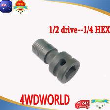 Impact Driver chuck ADAPTOR 1/2 drive 1/4 Hex drill bit for  Makita Bosch Dewalt