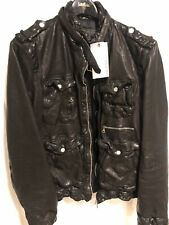 Neil Barrett Runway Leather Jacket