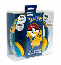 POKEMON Kid's Headphones - Pikachu Headphones - Adjustable, for ages 3-7 years