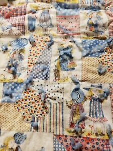Vintage Baby Quilt Holly Hobby