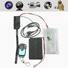 HD 1080P DIY Module SPY Hidden Camera Video Mini DV DVR Motion Detection+ Remote