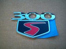 NOS MoPar 2010 Chrysler 300S Nameplate Emblem Badge